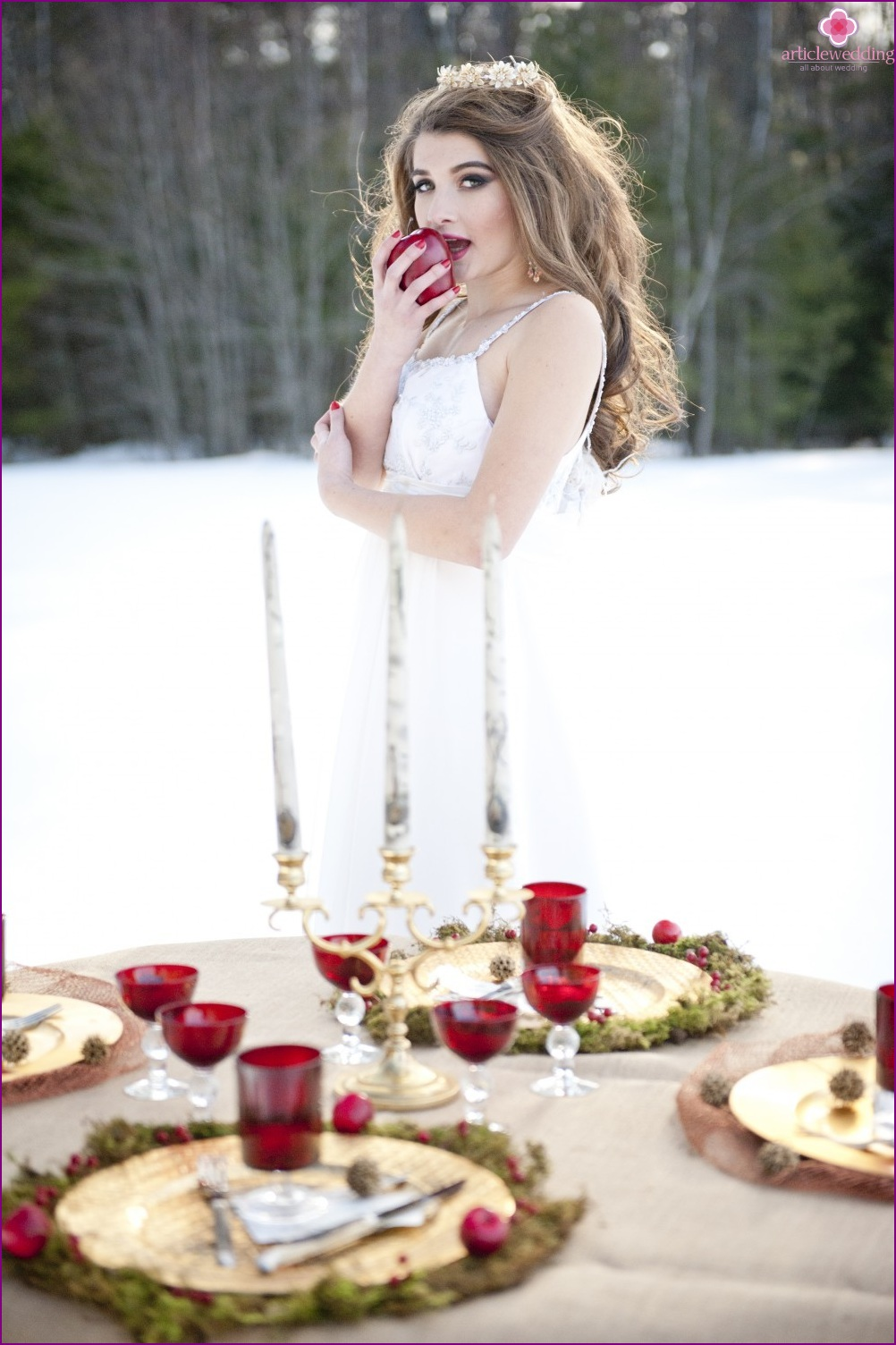 """Photosession in the style of """"Snow White and the Seven Dwarfs"""""""