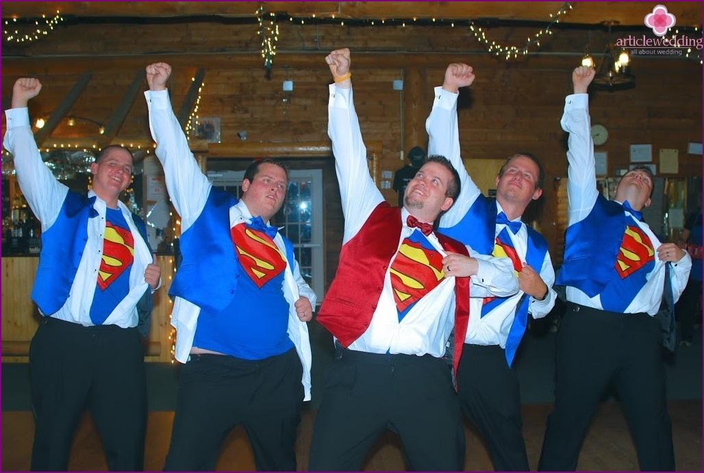 Superhero Style Wedding
