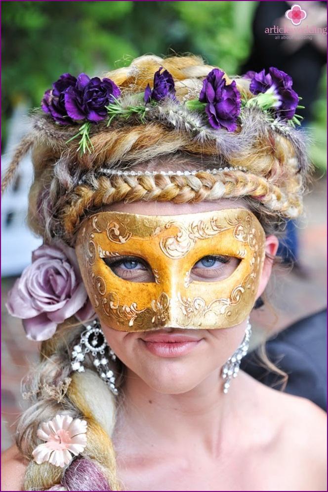 Renaissance style bride