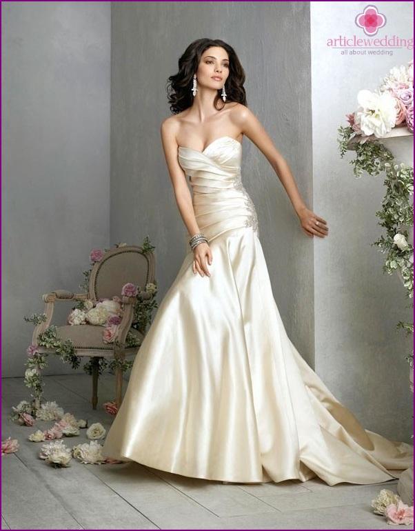 Silk Wedding Dress 2015