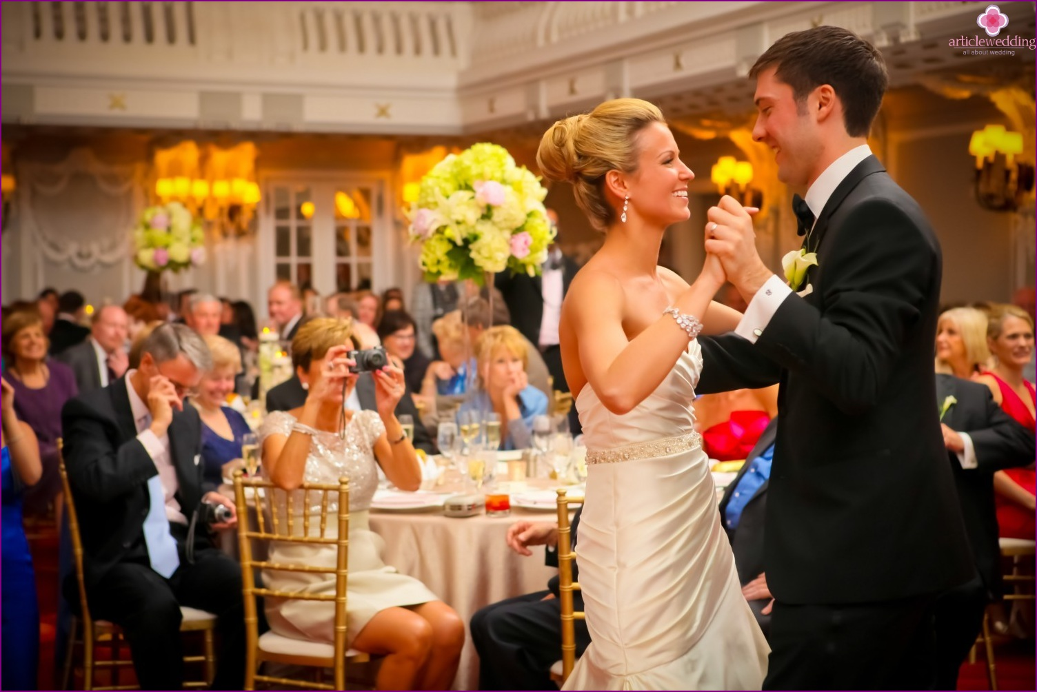 A wedding dance