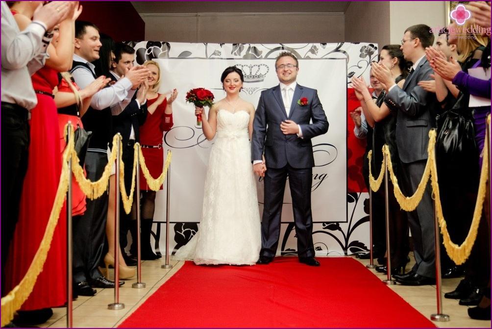 Hochzeitsskript im Oscar-Stil