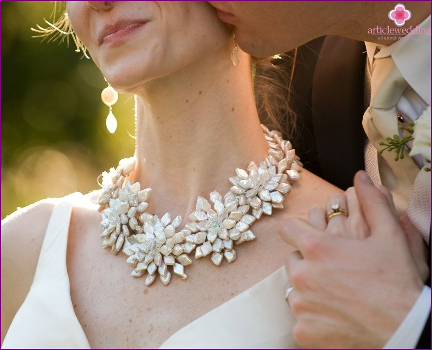 Necklace for the bride
