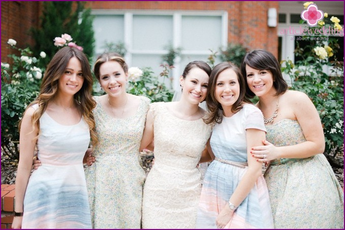 Outfits for bridesmaids