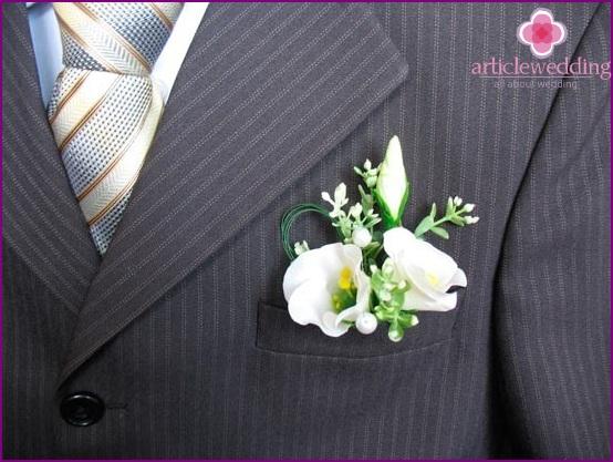 Miniature wedding bouquet