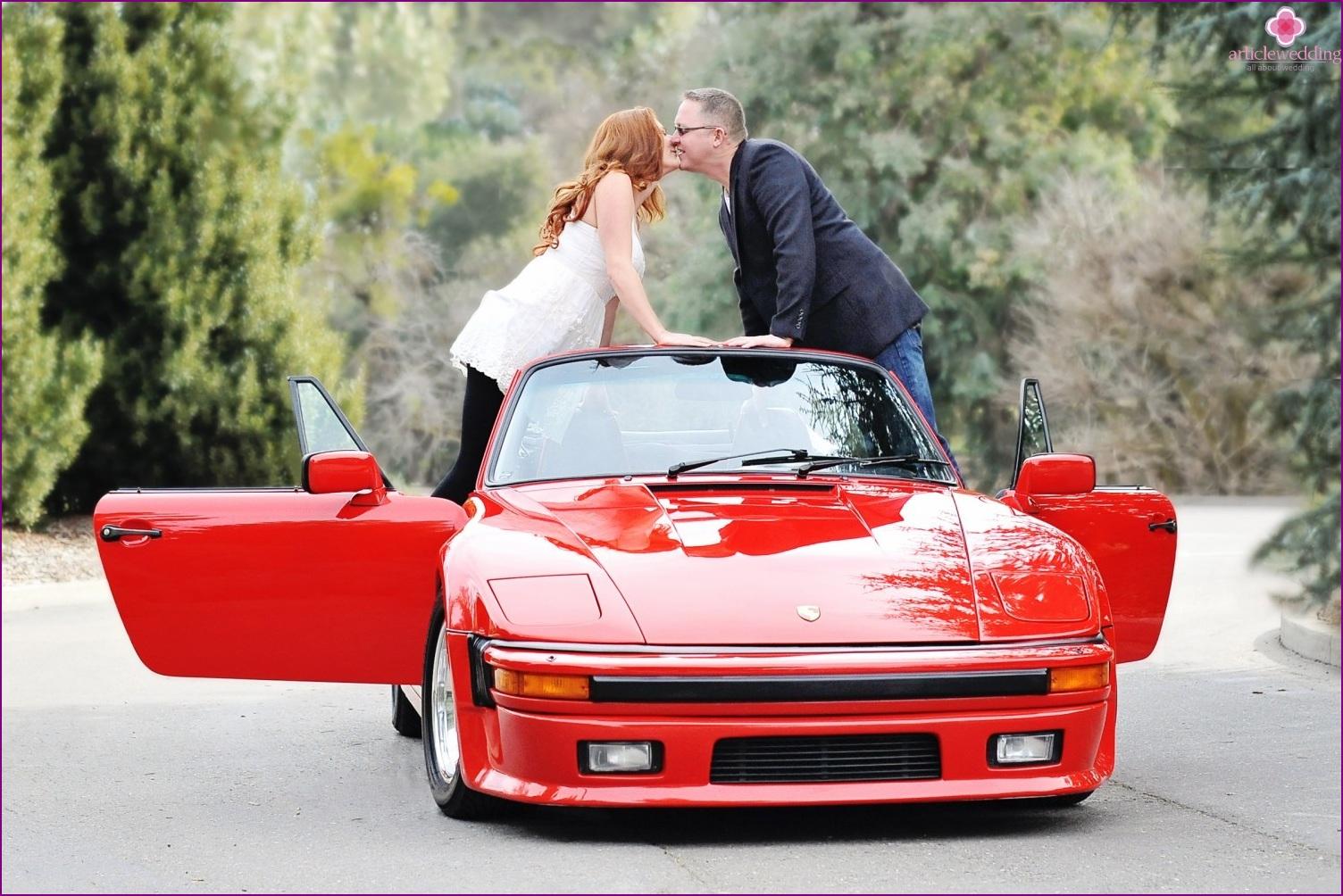 Hochzeitsszenario für zwei