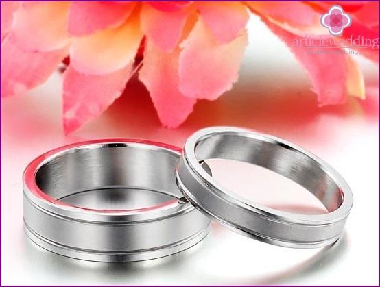 Steel wedding