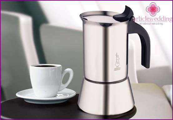 Coffee maker as a gift