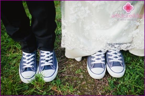 Wedding in sneakers