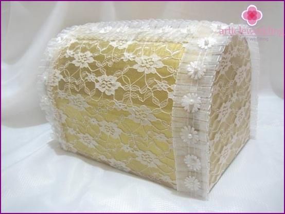 Hochzeitsgeschenkbox