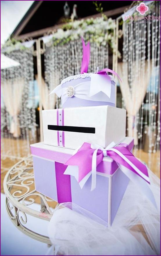 Hochzeitsgeschenkhalter