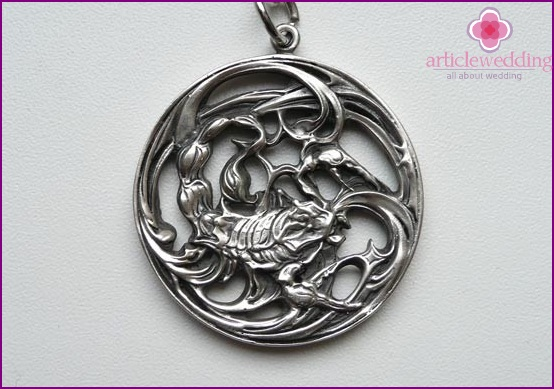 Scorpion Medallion