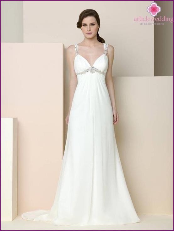 Griechisches Hochzeitskleid