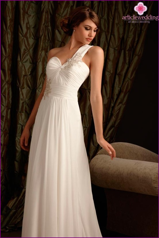 Empire Hochzeitskleid