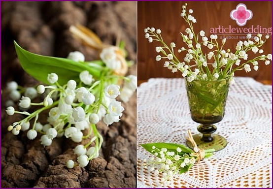 Lace (lily of the valley) wedding