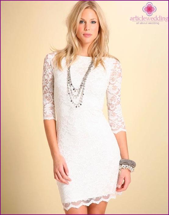 Anniversary Lace Dress