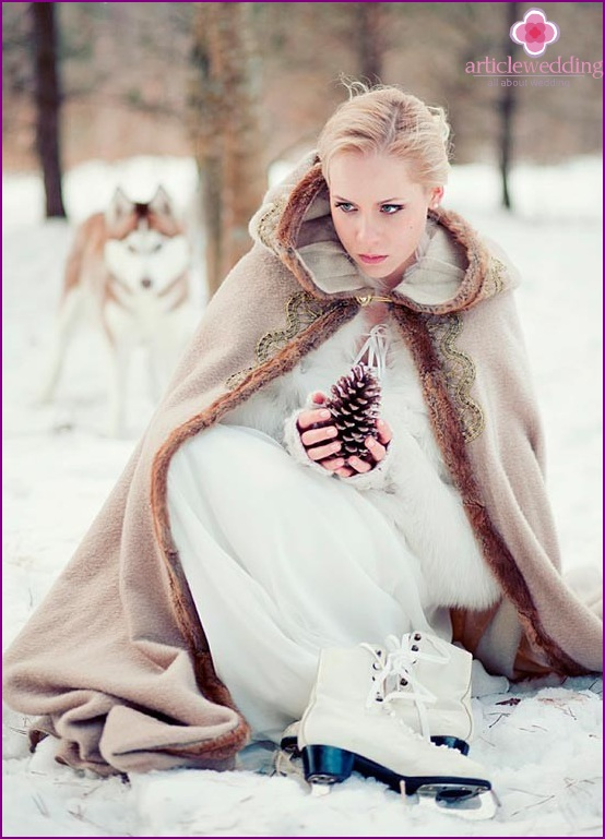Winter photo accessories