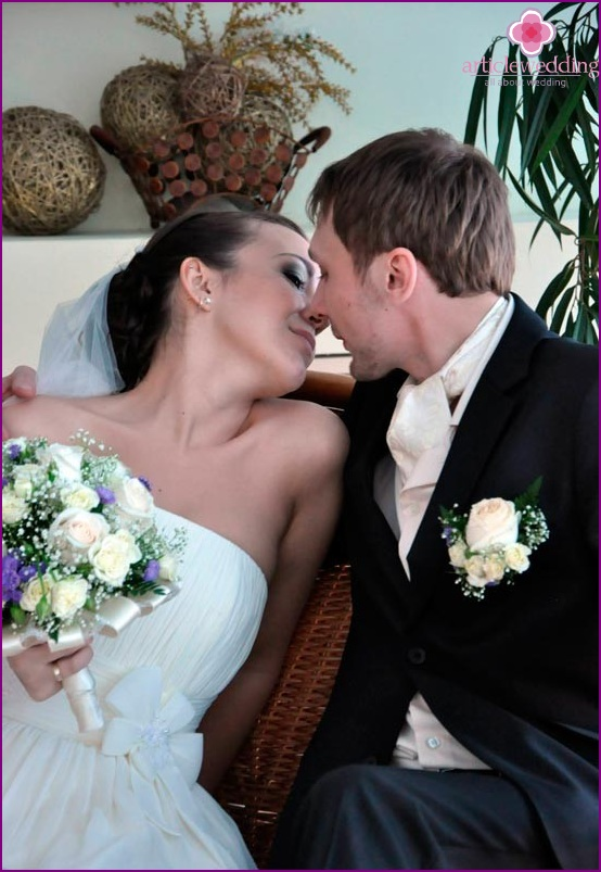Neckerchief - a wedding alternative to a tie