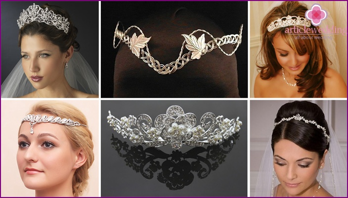 Wedding Tiaras and Garden Tiaras