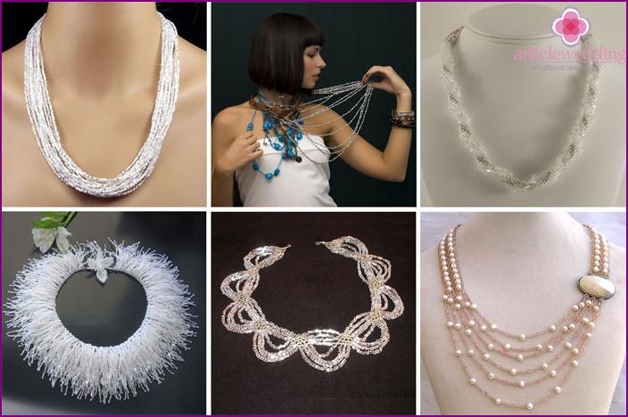 Beaded Wedding Beads