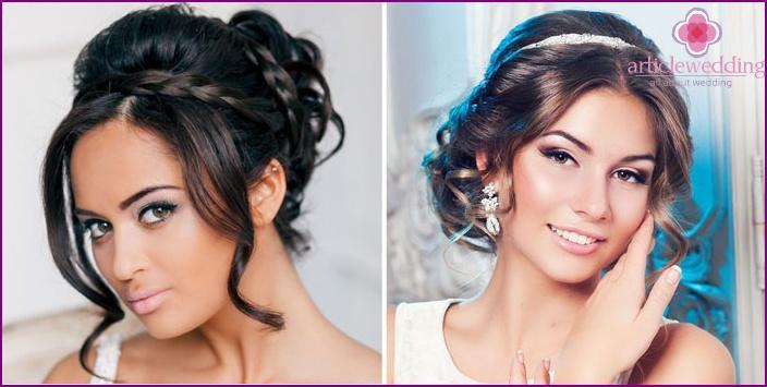 Ausdrucksstarkes Hochzeits-Make-up