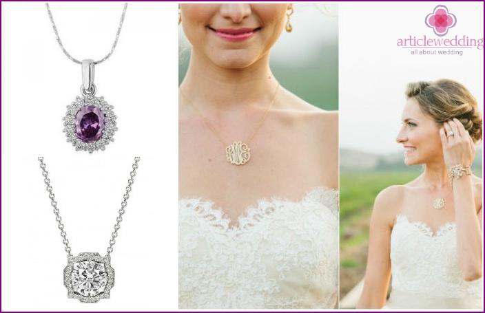 Wedding Accessories 2015: pendants