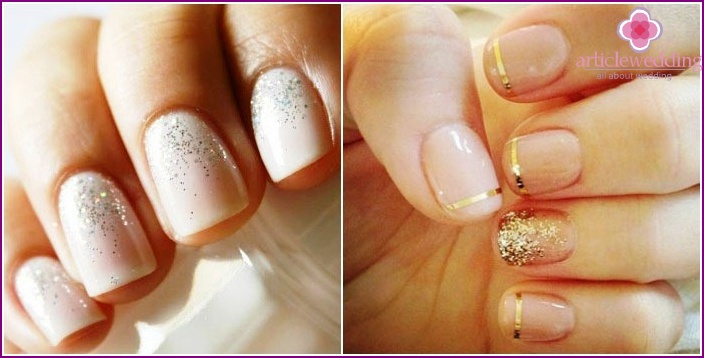 Short length manicure