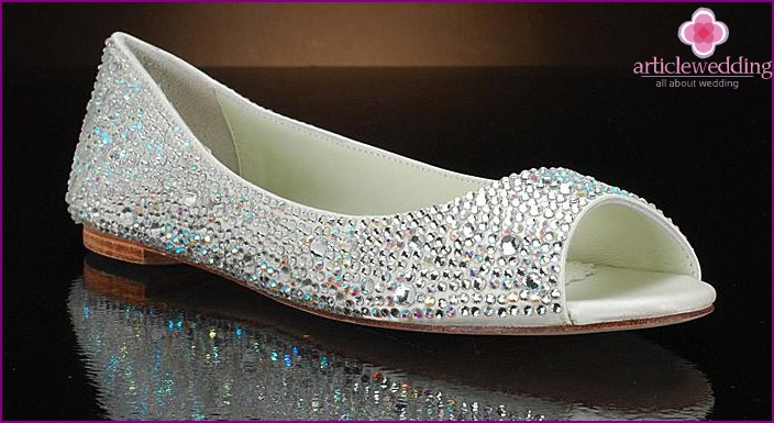 How to choose shoes for a wedding