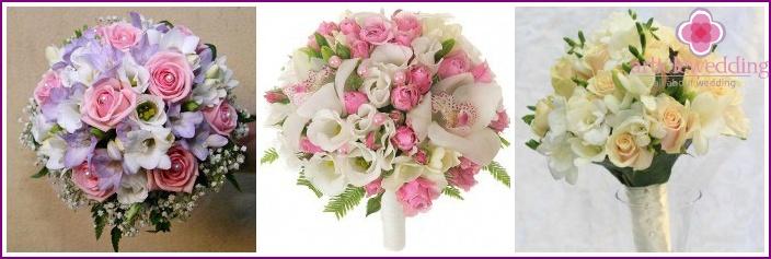Bridal bouquet: wedding attribute