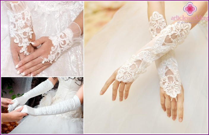 Wedding Accessories 2015: gloves