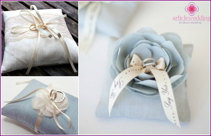 Wedding Accessories 2015: cushion for rings