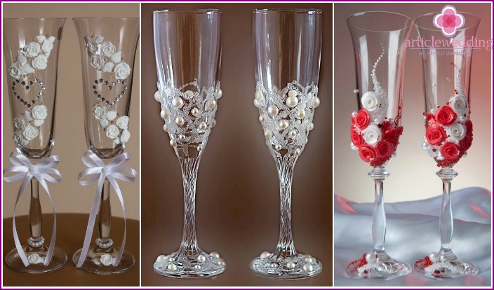 Wedding Accessories 2015: Wedding Glasses