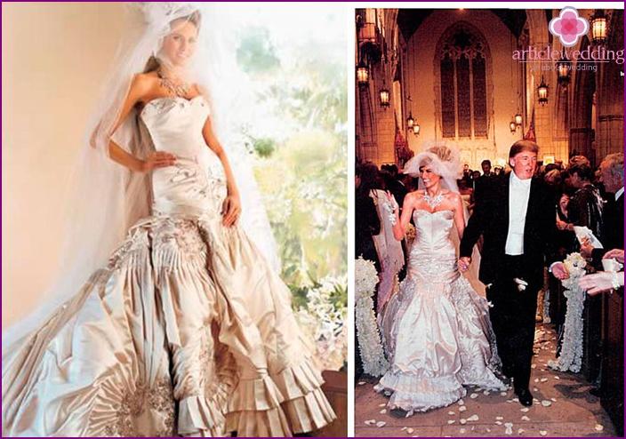 Wedding Apparel Melanie Trump