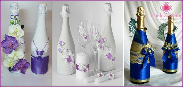 Wedding Accessories 2015: Champagne Decoration
