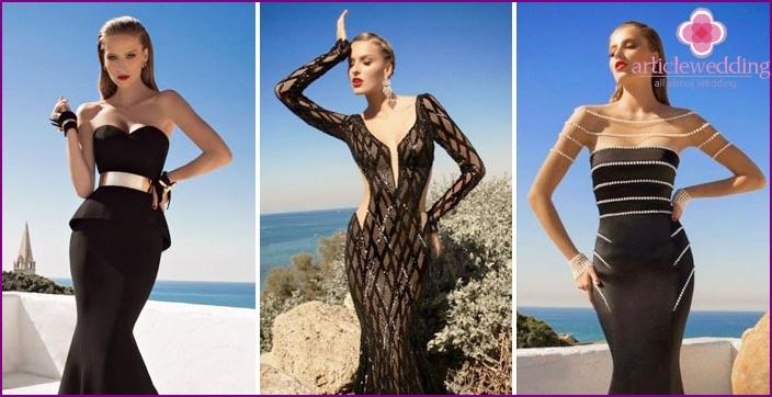 Black styles Mermaid by Vera Wong
