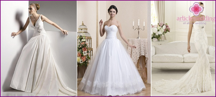 Luxurious bridesmaid dresses