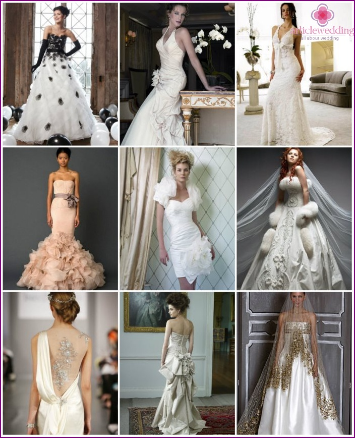 Wedding Dress Finishing Options