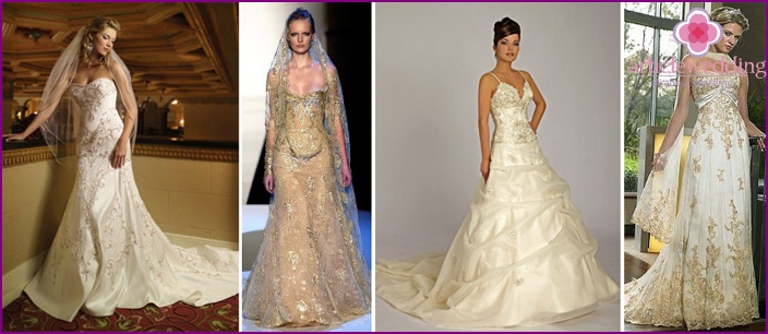Custom Made White Indian Wedding Dresses