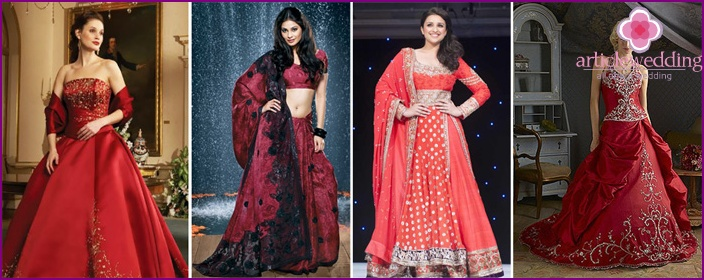 Indian style puffy dresses