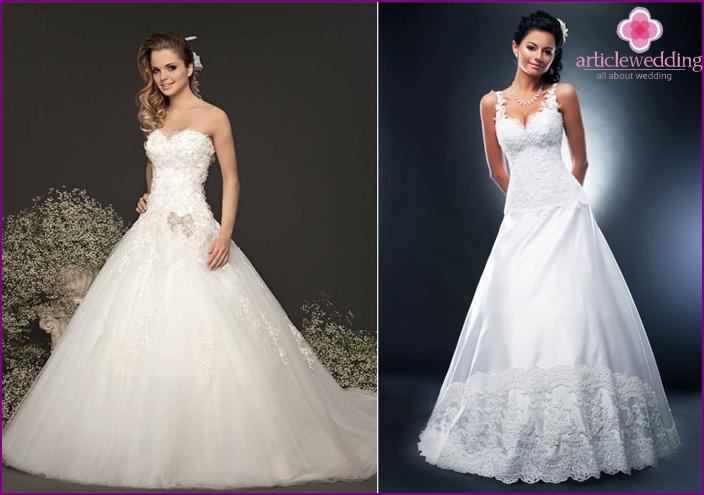 Classic bride dress