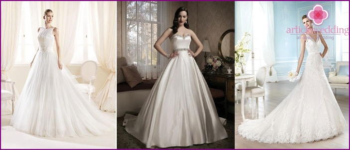 Classic wedding attire