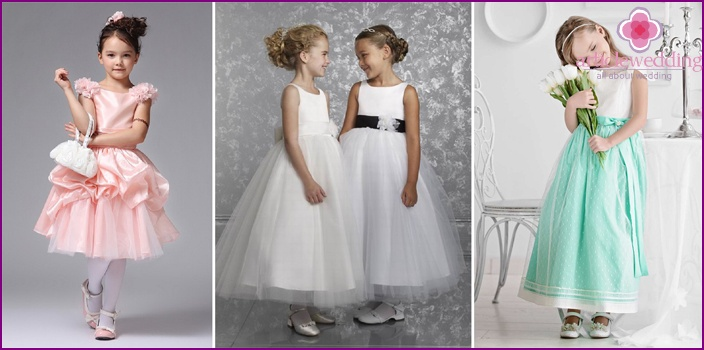 Fashion for girls for a wedding