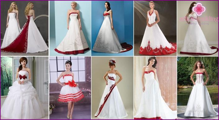Neckline A-Line Wedding Dresses