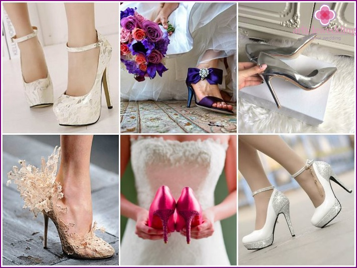 Fashionable wedding shoes in 2015