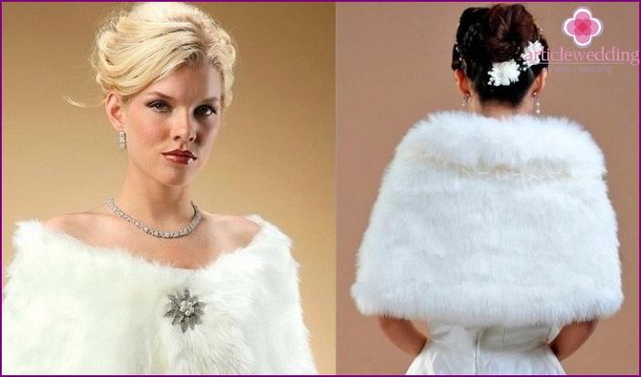 Fur Wedding Neck