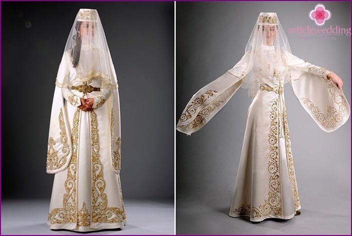 Cut Ossetian wedding attire