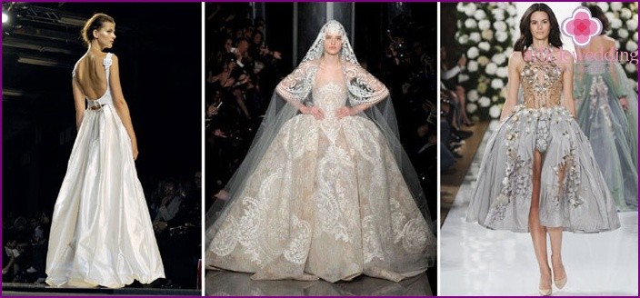 Lush wedding dresses from Yudashkin