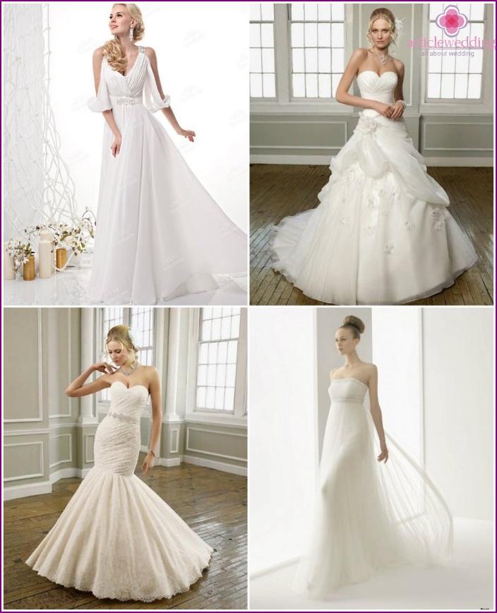 Wedding dresses from Versace