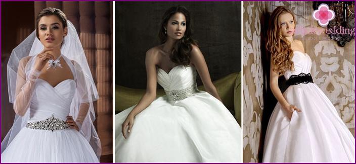 Rhinestone wedding belt for bride