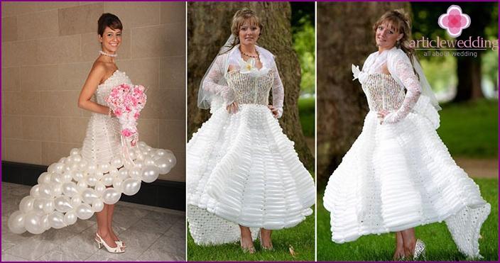 Balloon Bridesmaid Dress